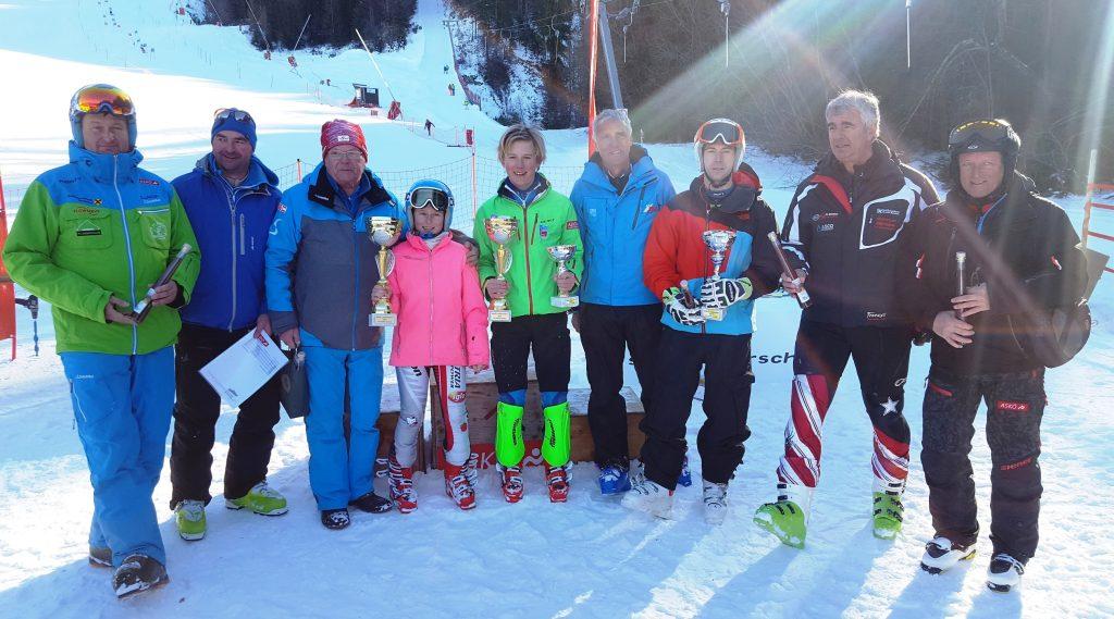 Emma und Oscar ASKÖ Landesmeister Ski alpin