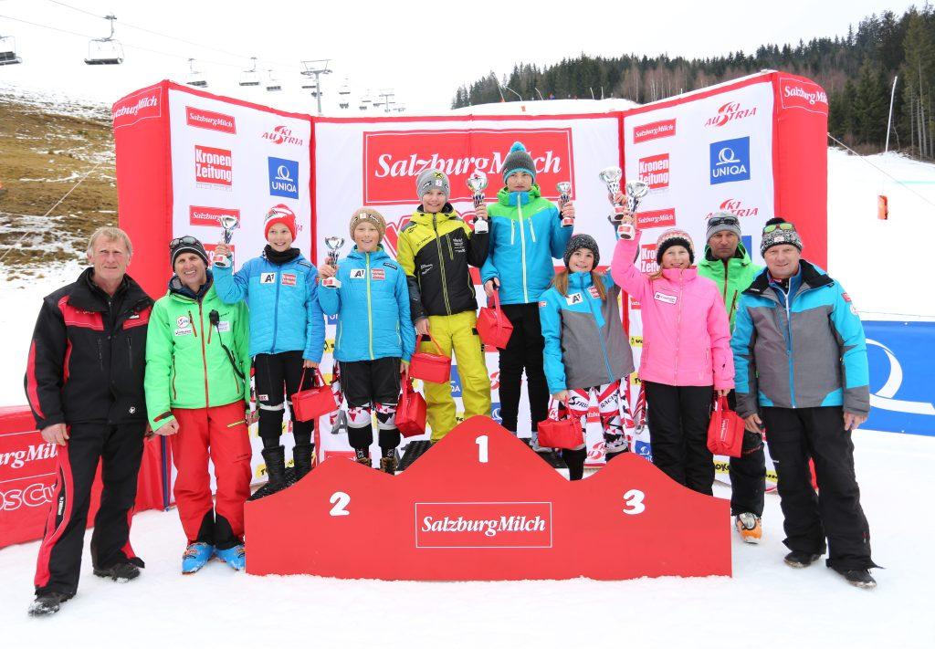 Daniella und Emma qualifizierten sich fürs Kidscup Finale in Kitzbühel