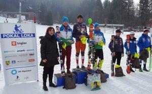 Oscar erfolgreich beim int.Schülerrace Pokal Loka in Kranjska Gora