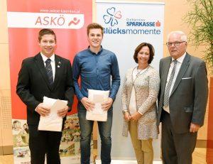 ASKÖ Kärntner Sparkasse Jugendförderungspreis für Felix Hacker