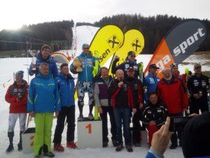 Jan.2018: Platz 5 für Pirmin Hacker beim FIS Slalom in Obdach