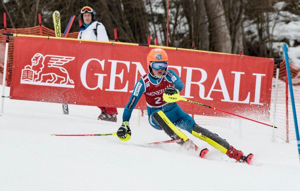 2018 Jän.16 Oscar siegt beim Int. Hahnenkamm Junior Race in Kitzbühel
