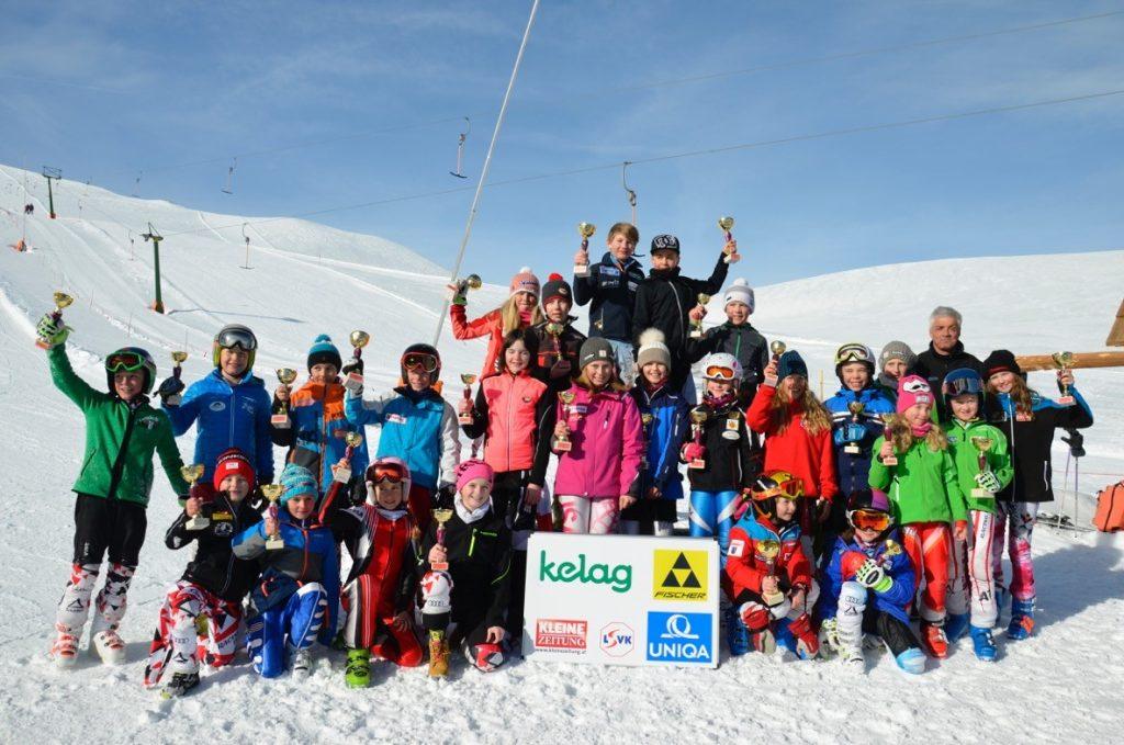 2018 Jän: Die ASKÖ Klippitztörl Kinder Athleten führen in der Cupwertung