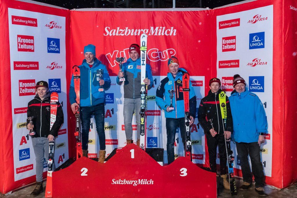 2018 Jän: Tolles Ergebnis der ASKÖ Klippitztörl Schüler bei den ÖSV Testläufen