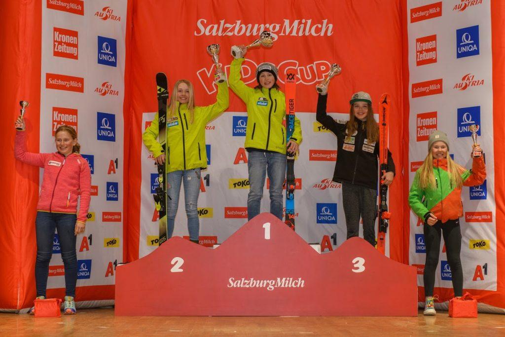 2018 März: Emma MOSER und Kathi WUCHERER mit tollem Erfolg beim SalzburgMilch Kids Spring Festivals