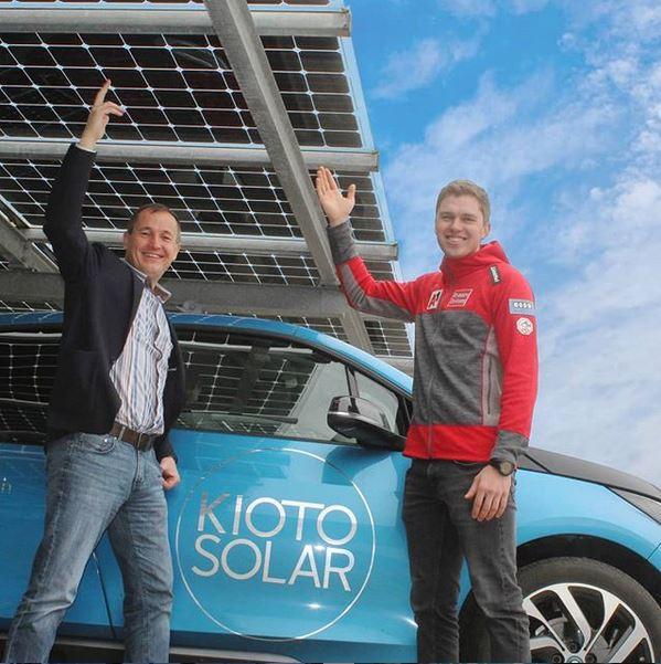 Saison 2018/19 Kioto Solar weiter Sponsor von Pirmin Hacker